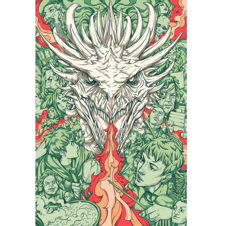 Sampul Harry Potter ala Nicholas Filbert Terinspirasi dari Fantastic Beasts