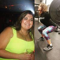Chloe Longstaff melakukan olahraga rutin untuk menurunkan berat badannya.