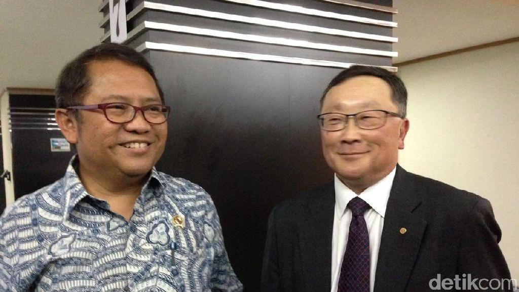 Indonesia Lirik Aplikasi Keamanan BlackBerry