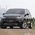Menjajal Land Rover Discovery Sport di Lintasan Offroad