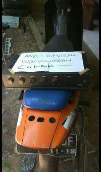 Foto 'Ampli Servisan, Bukan Curian' Ramai di Facebook