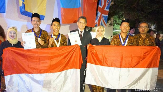 Tim Indonesia di iGeo 2017