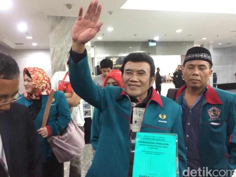 Rhoma Irama Tegaskan Partai Idaman Siap Diverifikasi KPU