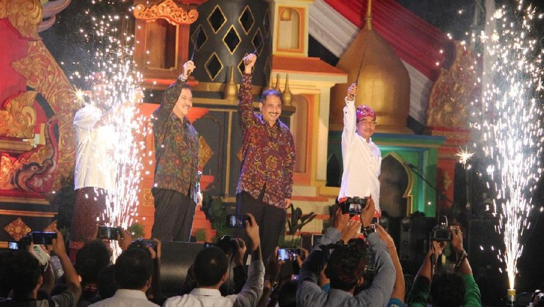 Foto: Menteri Pariwisata Arief Yahya membuka Sanur Village Festival 2017 (dok Istimewa)