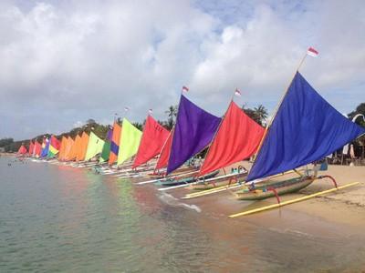 170 Perahu Jukung Ramaikan Sanur Village Festival 2017