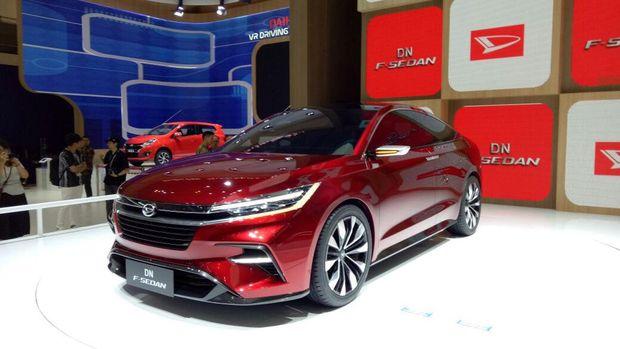 Mobil konsep Sedan DN F