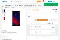 Kurang dari 12 Jam, Oppo F3 Edisi Barcelona Ludes Terjual