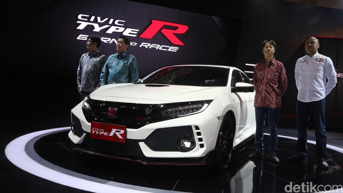 Honda Civic Type R Hadir di Indonesia