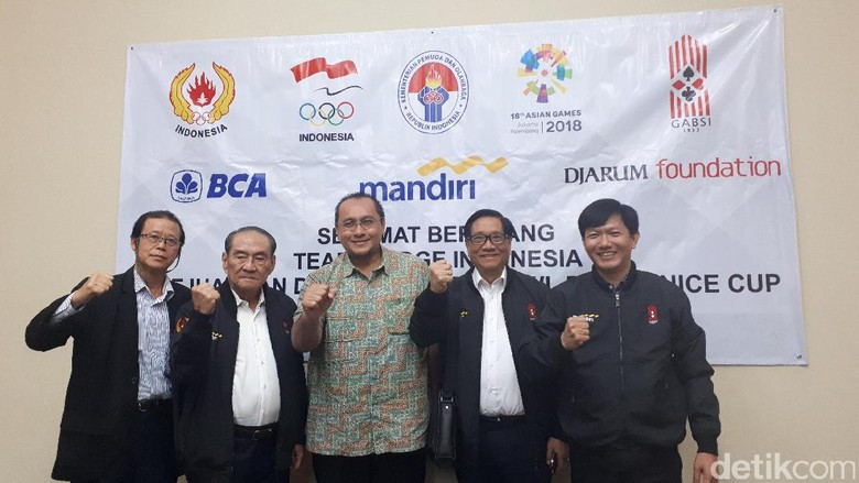 Bridge Revisi Target di Asian Games 2018