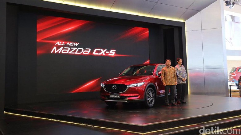 Mazda Jual 743 Unit Mobil Selama GIIAS
