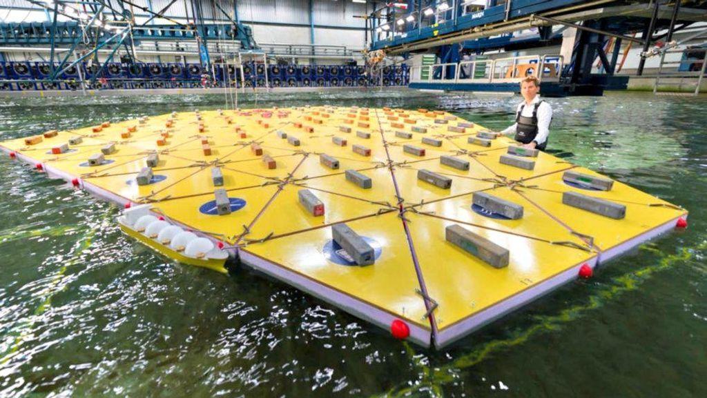 Insinyur Belanda Ciptakan Pulau Terapung Buat Lawan Banjir