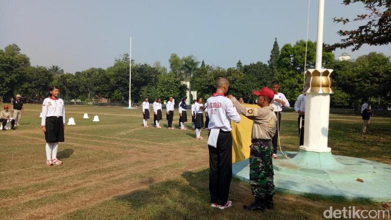 Menengok Latihan Paskibraka HUT RI Ke-72 di Cibubur
