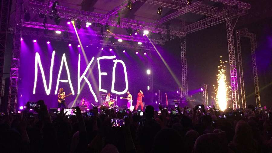 Dibuka Naked, Begini Aksi Klimaks DNCE Semalam