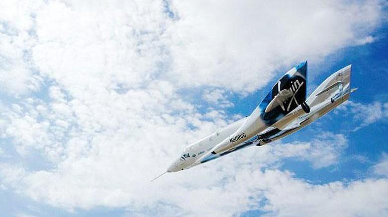 Pesawat luar angkasa VSS Unity (Virgin Galactic)