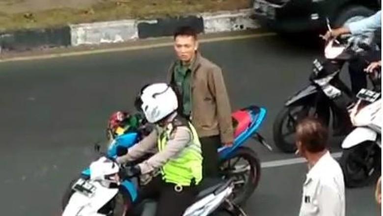 Danrem: Serda Wira Pukul Polantas Gara-gara Senggolan Motor