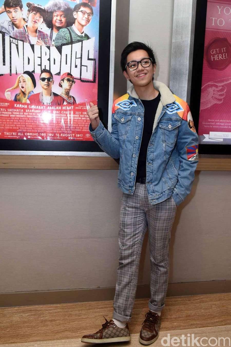 Senyum Semringah ala Brandon Nicholas