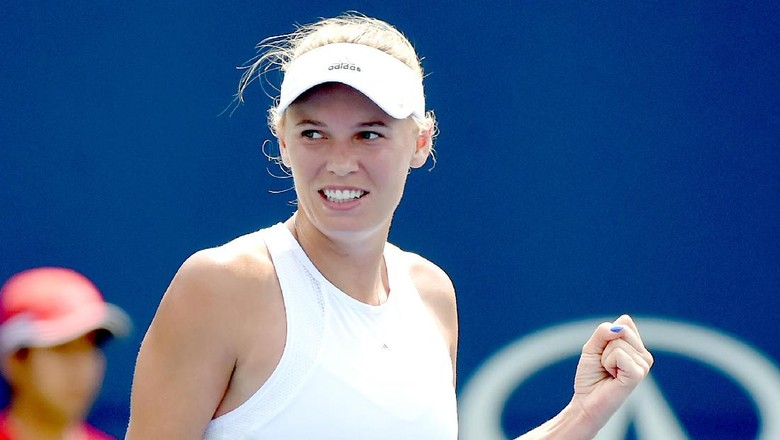 Wozniacki ke Perempatfinal Usai Singkirkan Radwanska