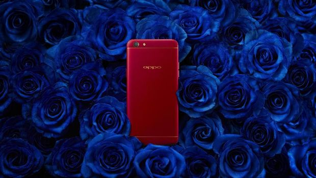 Oppo Rilis F3 Berkelir Merah, Harganya?
