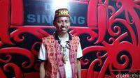 Ketua Dewan Adat Dayak (DAD) Kabupaten Sintang, Jeffray Edward.