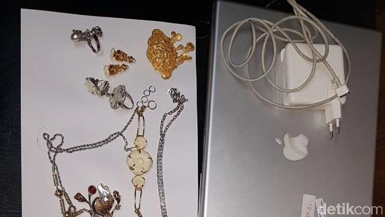 Polisi Tangkap Maling Laptop di Rumah Sekretaris Istri JK