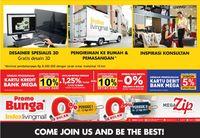 Hari Ini Ritel Perabot Rumah Tangga Index Living Mall Hadir di Jakarta