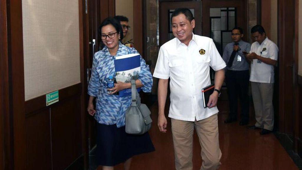 Jonan, Sri Mulyani dan Rini Lapor Soal Freeport ke Jokowi