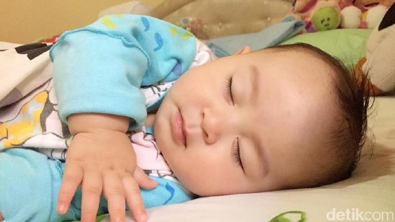 Ilustrasi bayi tidur/ Foto: dok.HaiBunda