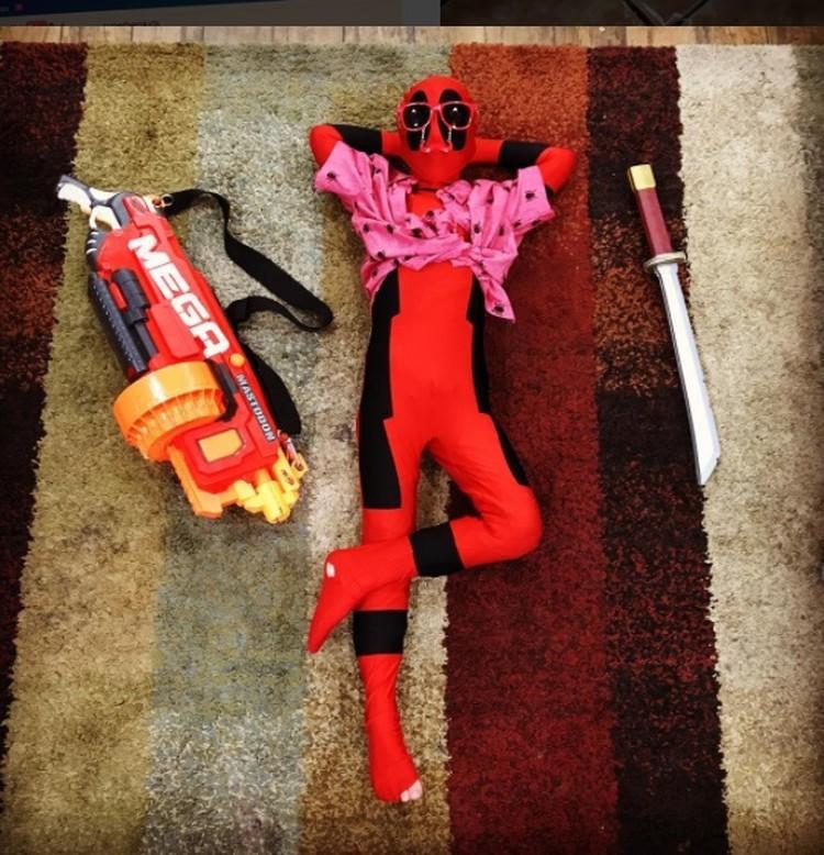 Begini jadinya kalau pahlawan super lagi santai. Hi hi. (Instagram: @ superherokids7)