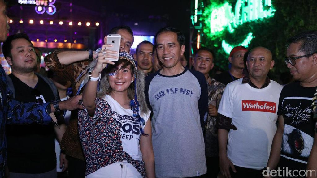 Ucapan Selamat Hari Musik dari Jokowi