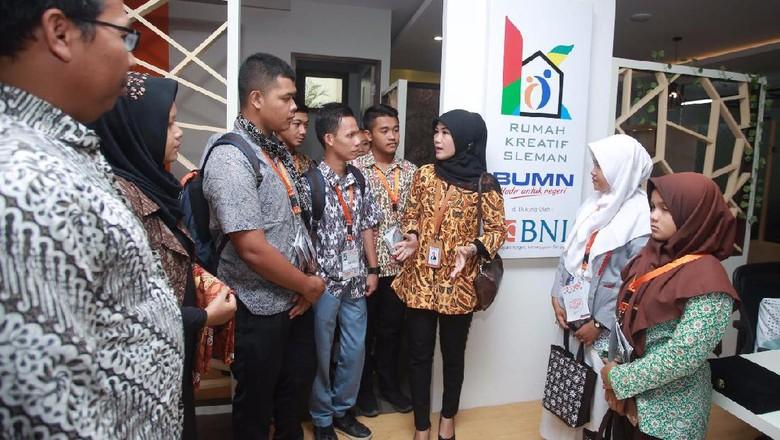 20 Pelajar Sumatera Barat Belajar Pemasaran Online di RKB Sleman