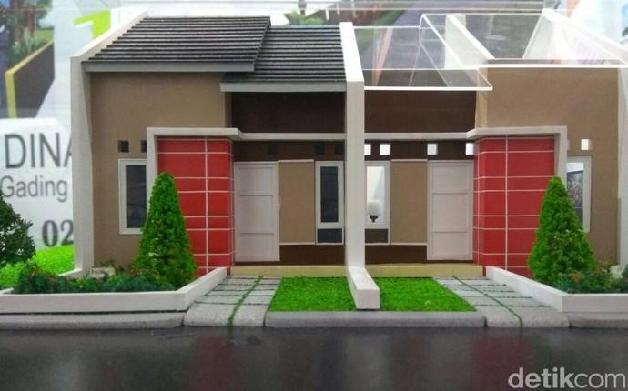 Foto : Begini Bentuk Rumah Rp 100 Jutaan di Pinggir Jakarta