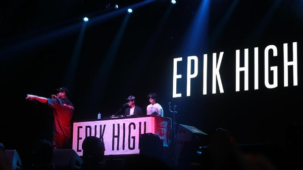 Epik High Bikin Goyang We The Fest 2017