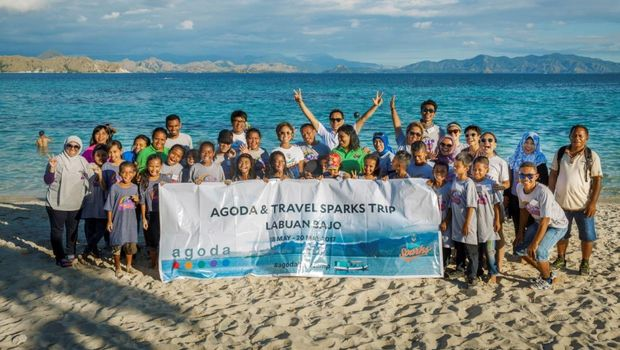 Rayakan Kemerdekaan, Agoda Wujudkam Mimpi Anak-anak Indonesia Timur