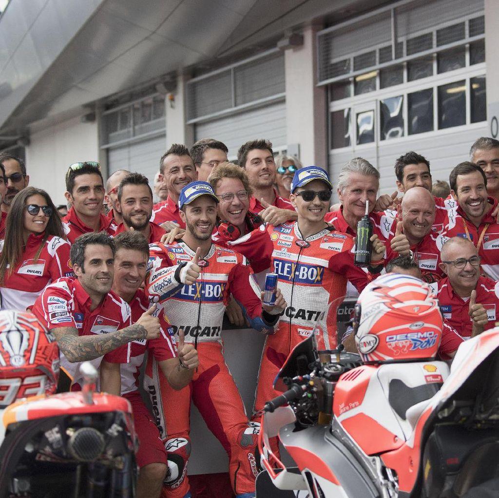 Ducati Bantah Bakal Bedakan Motor Lorenzo dan Dovizioso