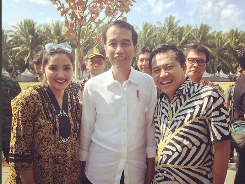 Puji Jokowi, Ashanty: Dulu Saya Bukan Pendukung Dia