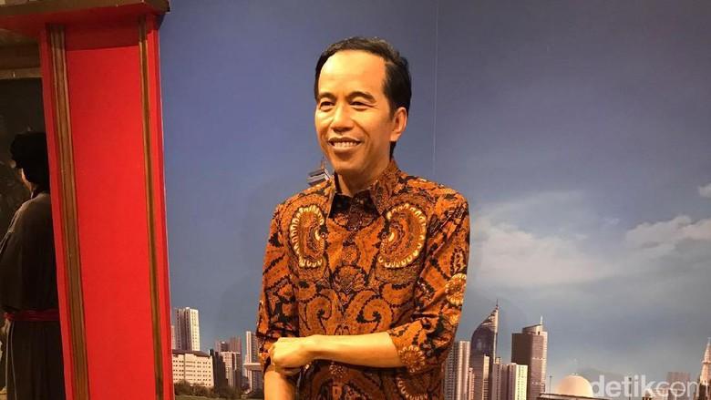 Patung lilin Jokowi di Hong Kong (dok. KJRI Hong Kong)