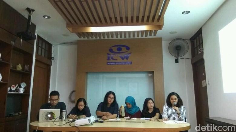 ICW: Hingga Pertengahan 2017, Ada 22 Vonis Bebas Kasus Korupsi