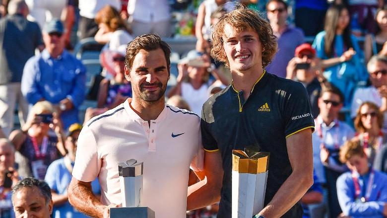 Zverev Juara Usai Atasi Federer Straight Set