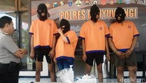 Penjahat Spesialis Rumah Kosong Dibekuk Polisi Banyuwangi