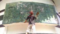 Rayakan HUT RI, Traveler Blitar Bersihkan Museum Terlantar