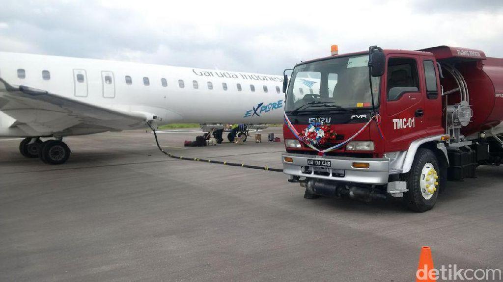 Pertamina Buka Depot Pengisian Pesawat Udara