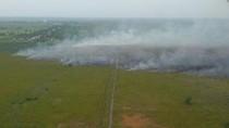 Cuaca Panas, Hari Ini Muncul 11 Titik Api di Riau