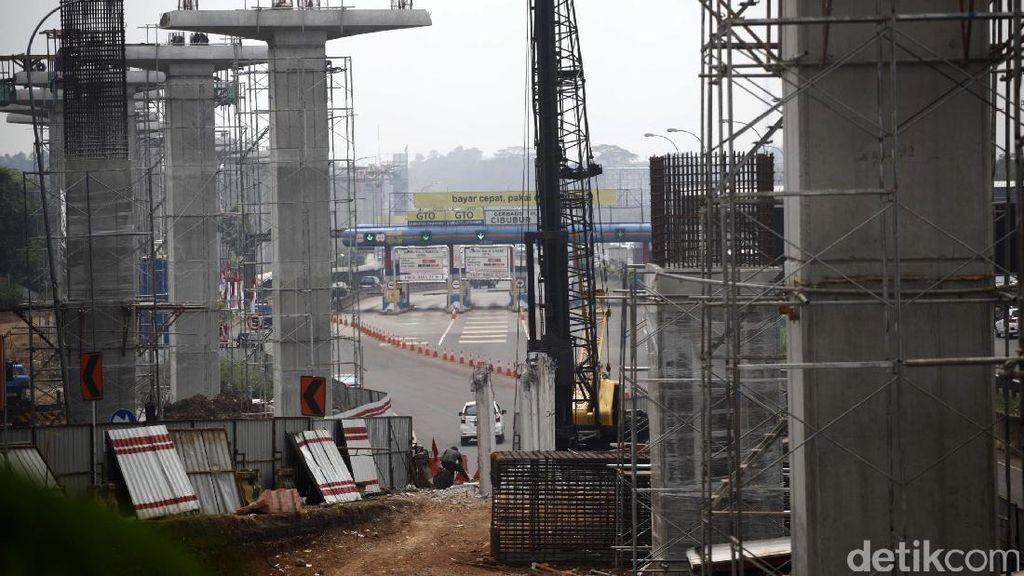 Pembangunan LRT Jabodebek Tahap I Sudah 21,9%