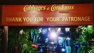 Foto: Restoran Bertema Kondom di Thailand