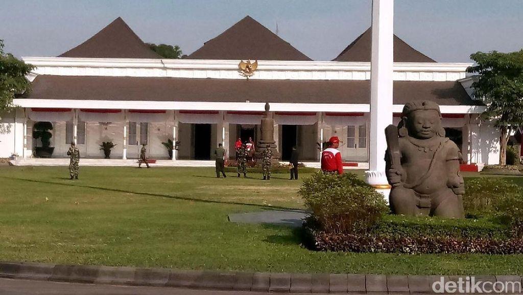 Tentang Gedung Agung, Istana Tempat Jokowi Rayakan Tahun Baru 2018