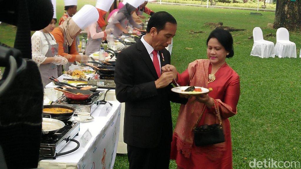 Cerita Jokowi soal Iriana yang Gemar Belanja Via Klak-klik