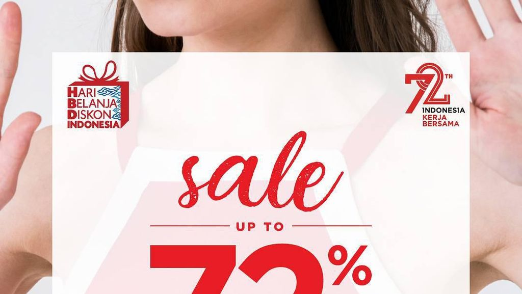 15 Brand dan Dept Store yang Gelar Diskon Hari Kemerdekaan Hingga 72%
