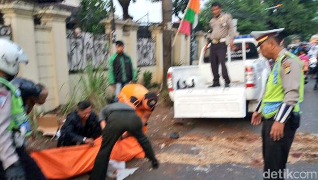 Kecelakaan Motor di Jakbar, 1 Orang Tewas