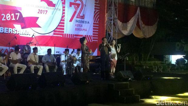 Gubernur DKI Jakarta Djarot Saiful Hidayat di Balai Kota, Selasa (16/8/2017)