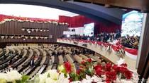 Jelang Sidang Tahunan Parlemen, Begini Suasana di Ruang Paripurna